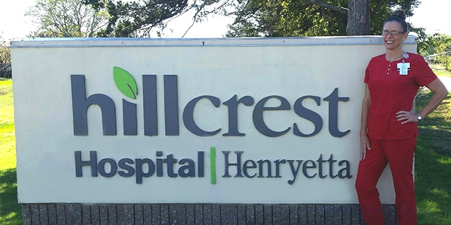 Leadership Series with Hillcrest Henryetta Hospital Nurse